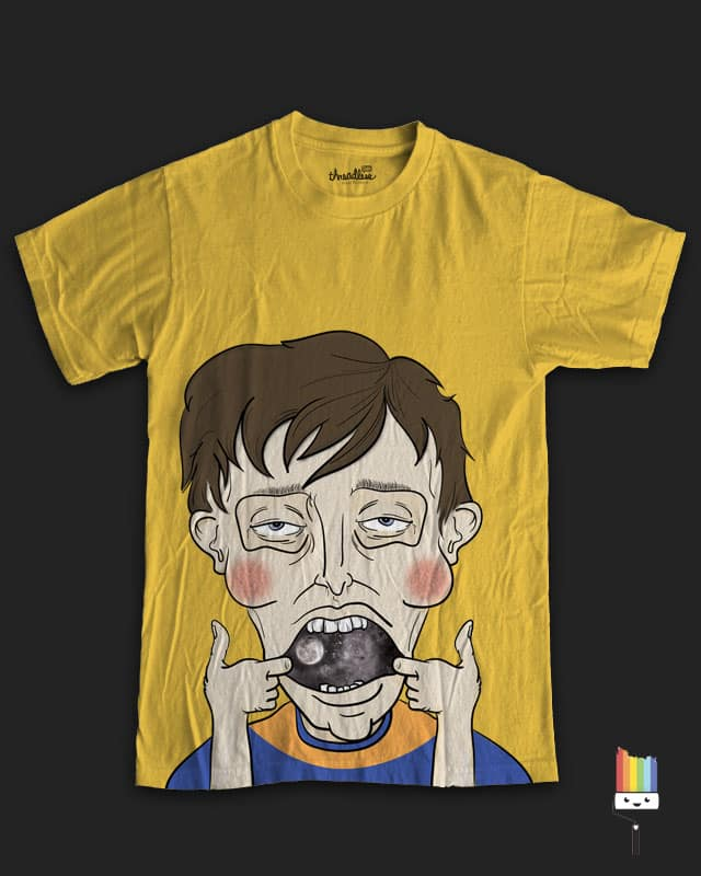 By the Sky of my Mouth by DesignbyProxy on Threadless