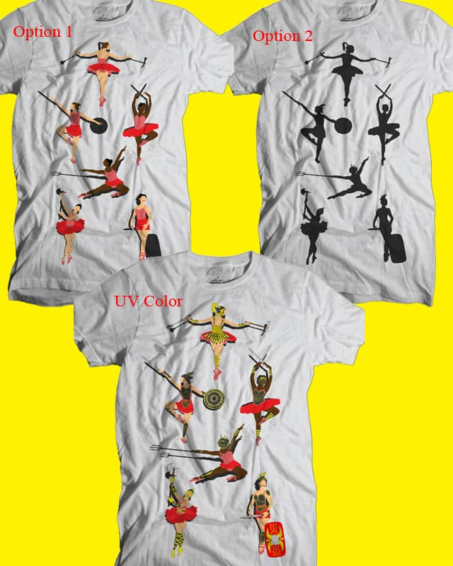 Ballerinas...Gladiators! by isawa on Threadless