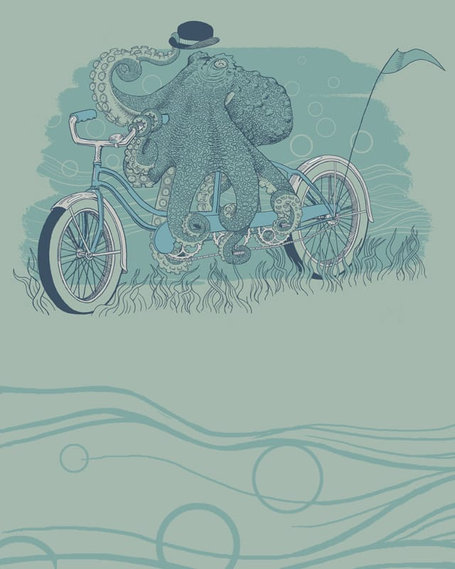 Octobike by jillustration on Threadless