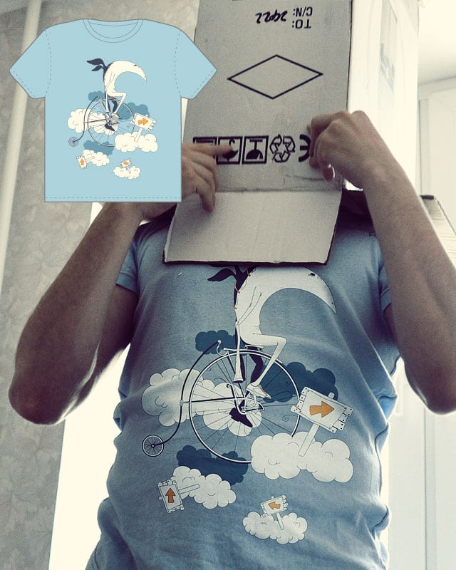 He Creates The Sky by Sergio Stanchev on Threadless