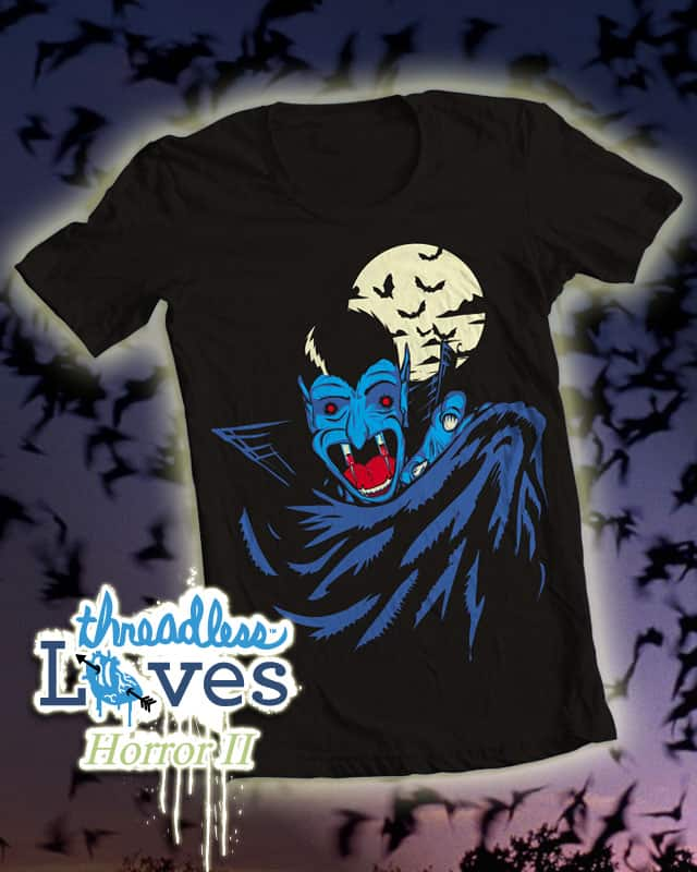 the indamnable  Count Needlemouth by biotwist on Threadless