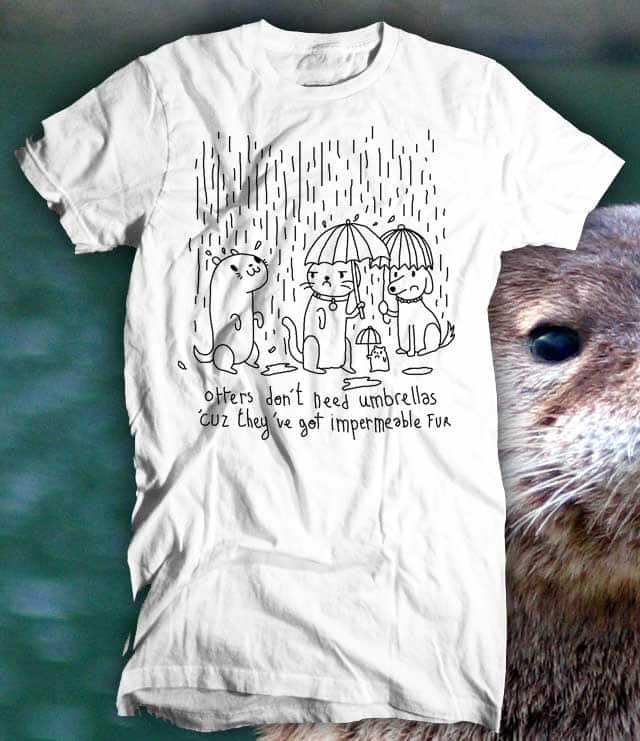Otter fact. by Aphte on Threadless