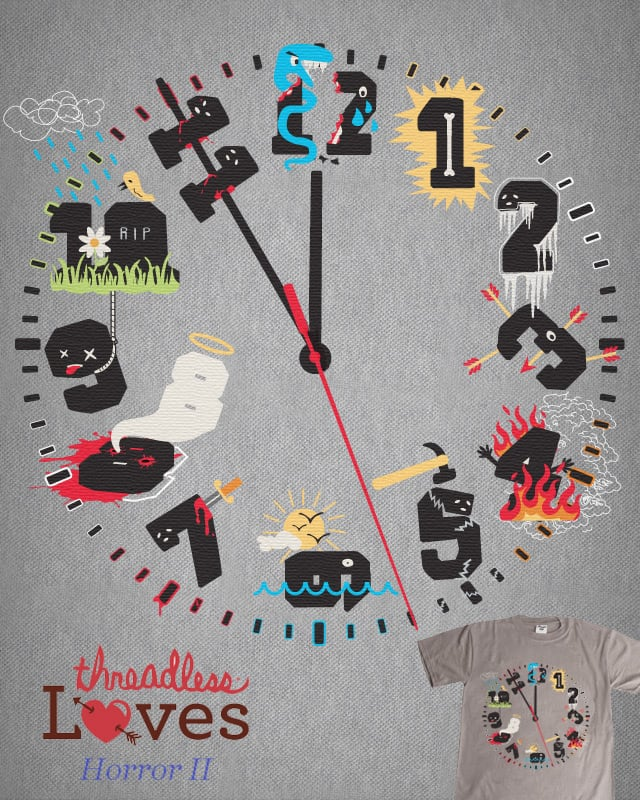 Killing time by Montro on Threadless