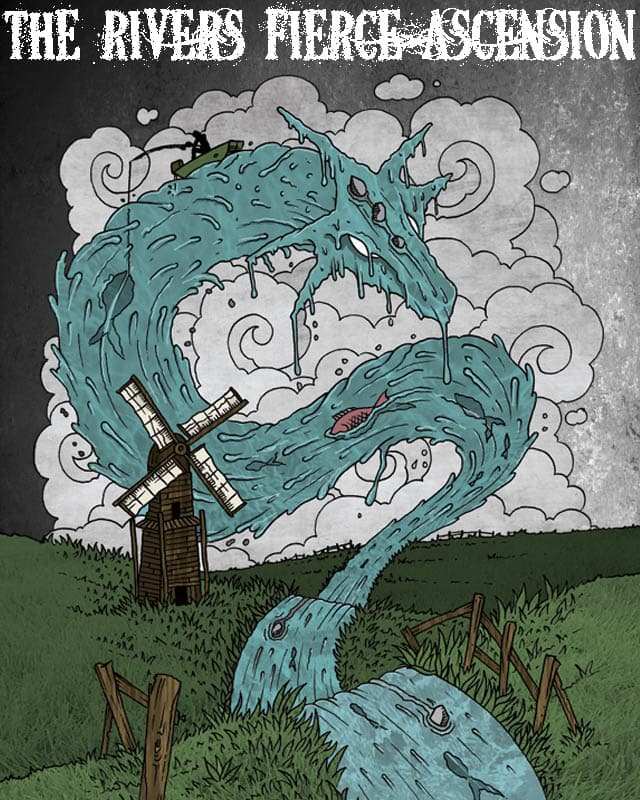 The Rivers Fierce Ascension by mark722 on Threadless