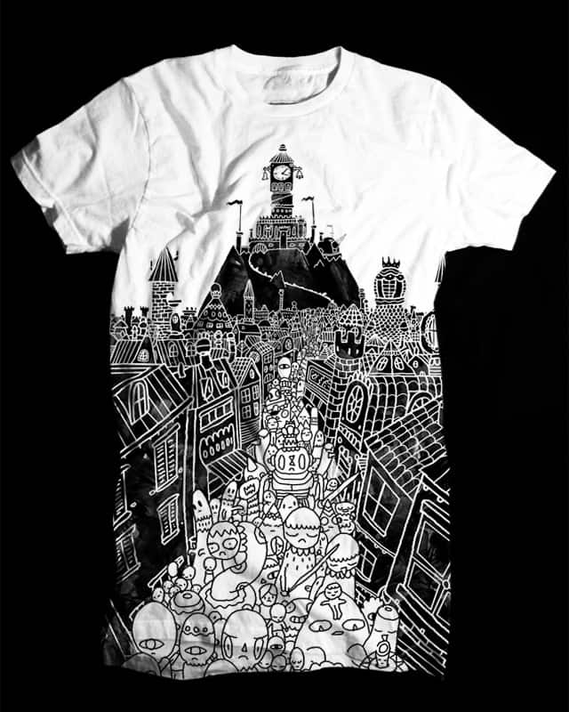 The Emperor's March to War by Aphte on Threadless