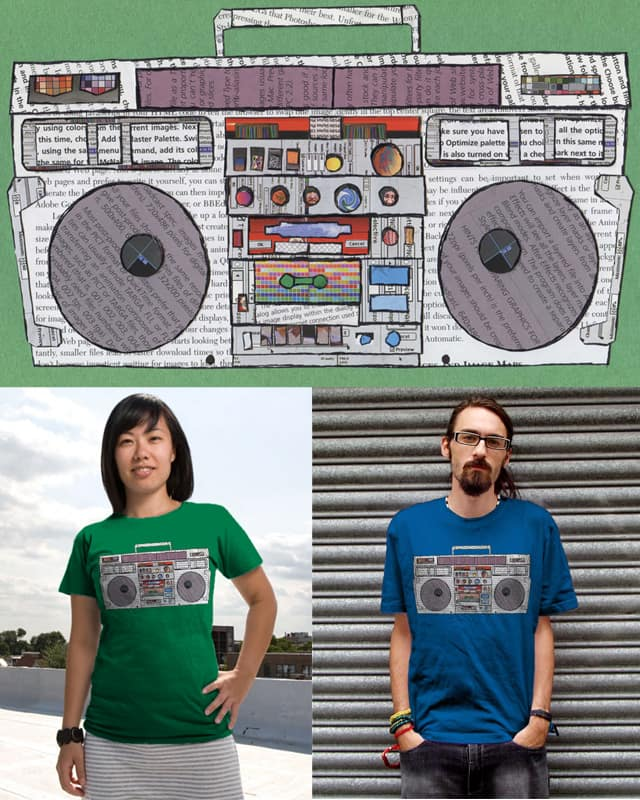 Paper Jams by stalliongsta on Threadless