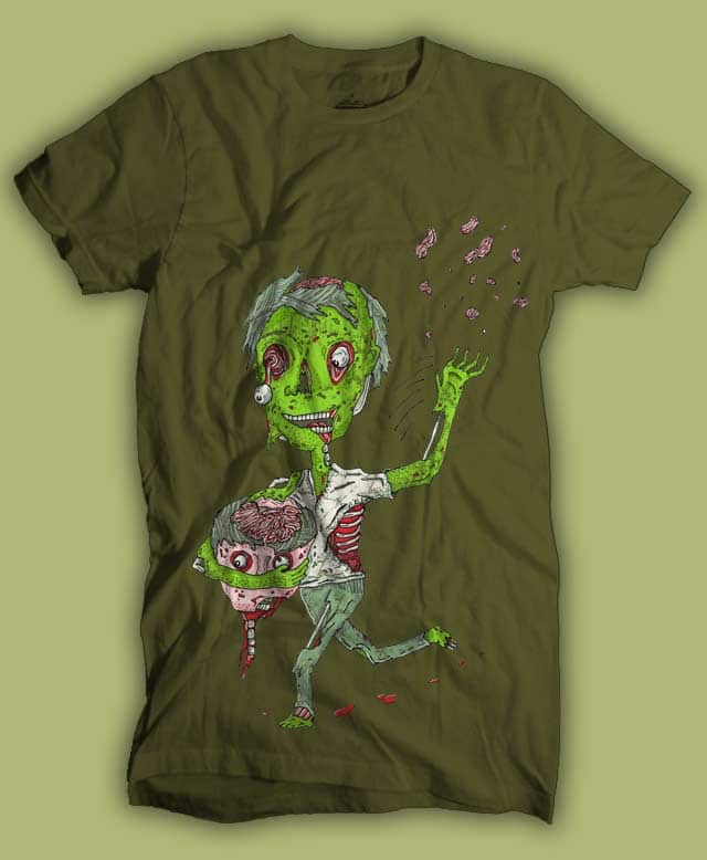 Why zombies want brains.. by randyotter3000 on Threadless