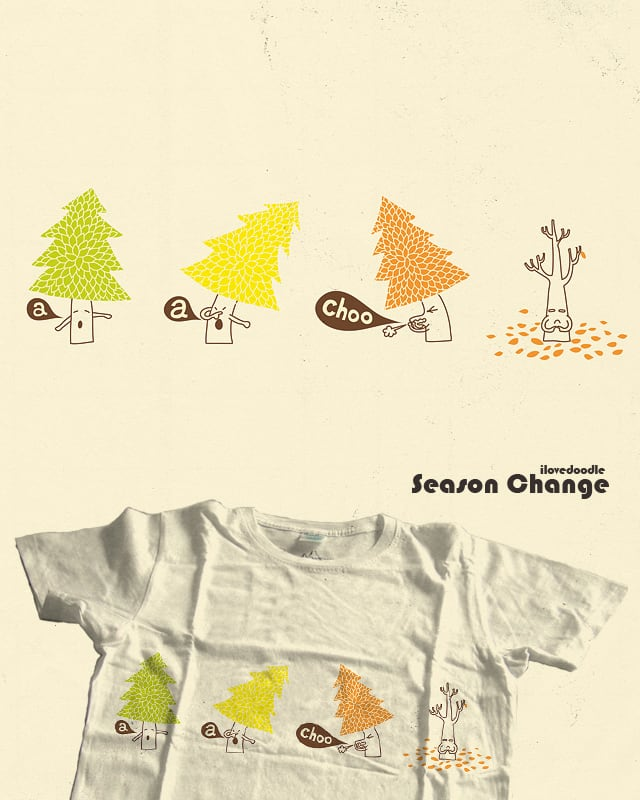 Season Change by ilovedoodle on Threadless