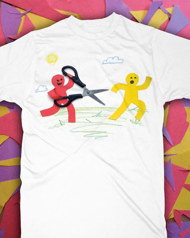 Running with Scissors by Ian Leino on Threadless