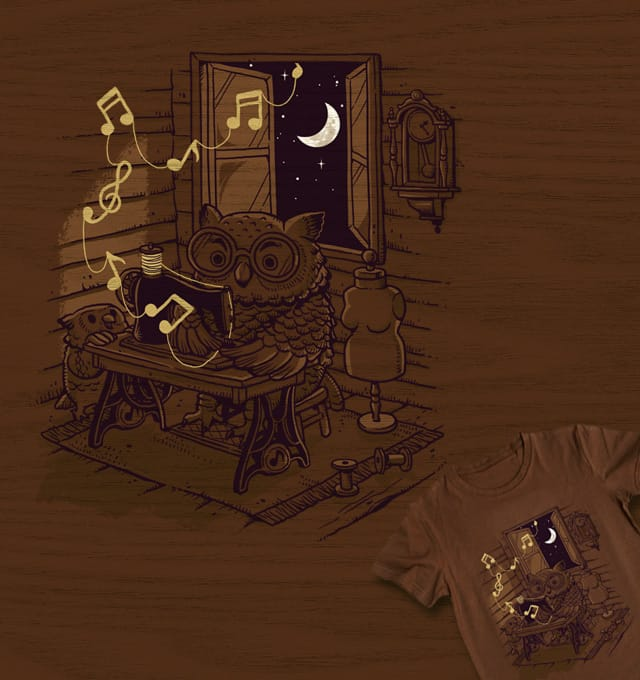 Owl Weaver by ben chen on Threadless