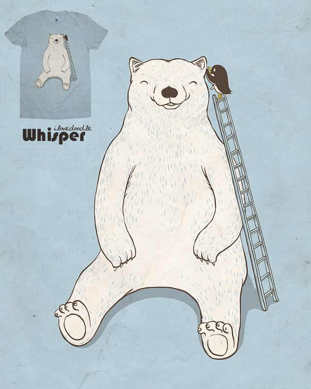 Whisper by ilovedoodle on Threadless