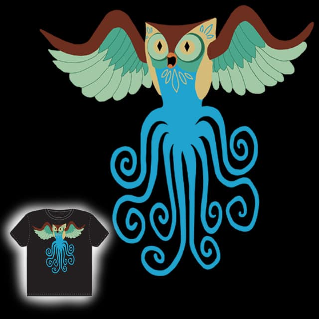 owltopus by macdoodle on Threadless