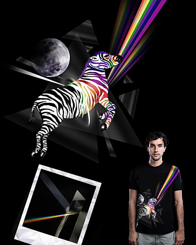 The Colored Side Of The Zebra by WID on Threadless