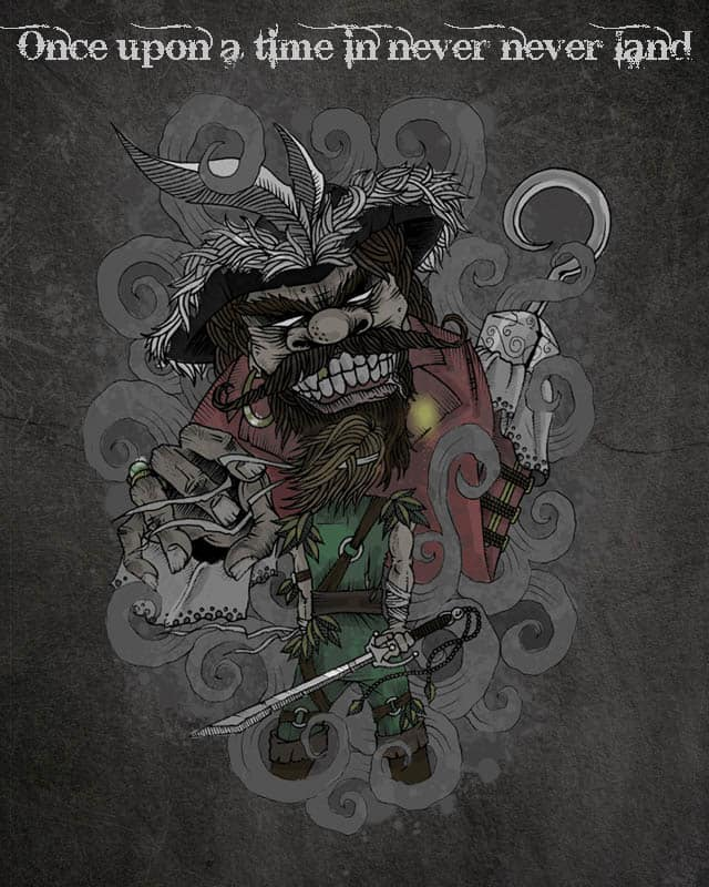 Once upon a time in never never land by mark722 on Threadless