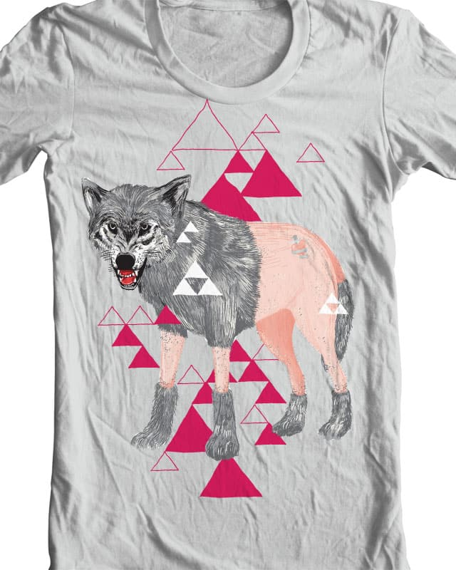 Wolf Poodle by Raid71 on Threadless