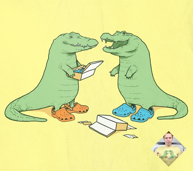 Crocs by tenso on Threadless