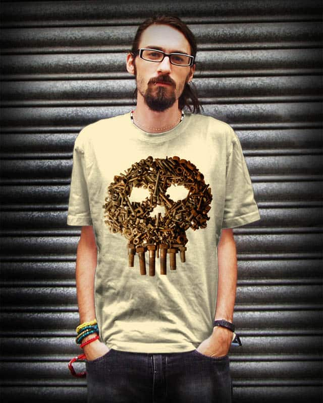 Metal Head by Krimson on Threadless