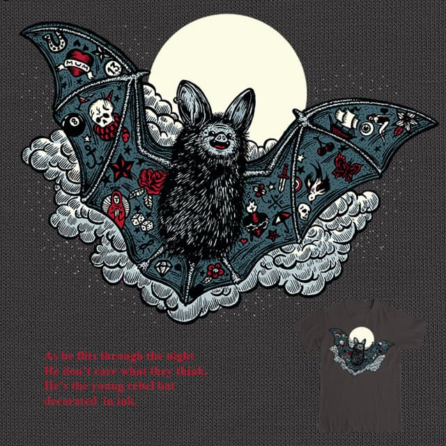 Bats dig Tatts by B 7 on Threadless