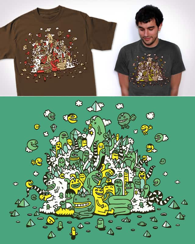 Chrystal Doodlecloud by stingerstyler on Threadless