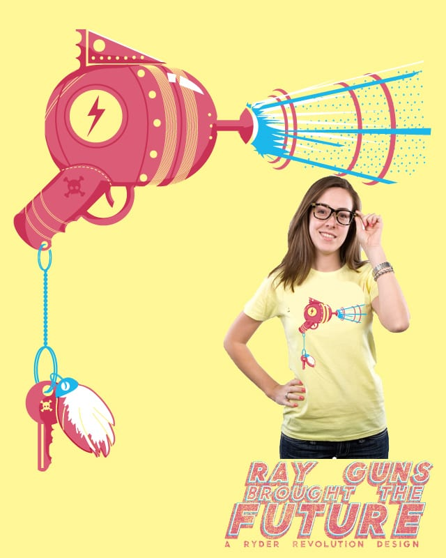 Ray Guns Brought the Future by Ryder on Threadless