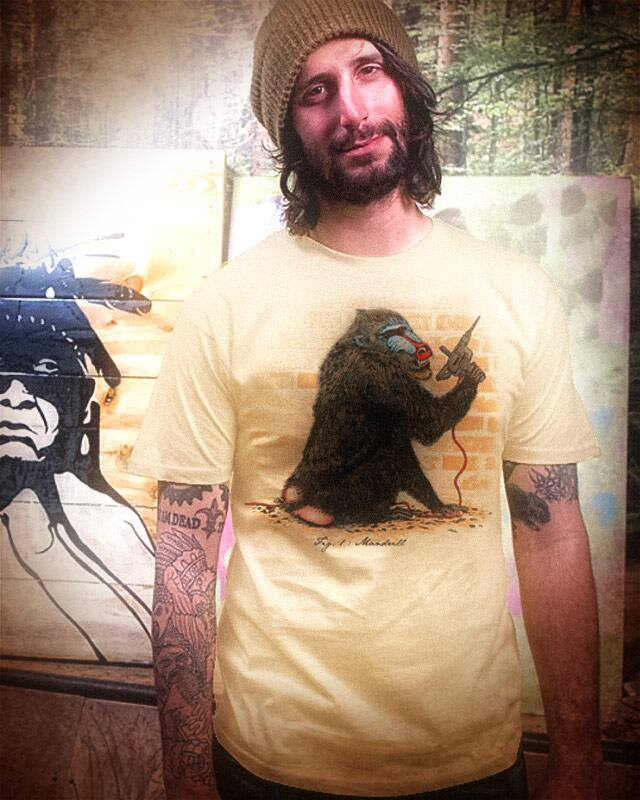 Mandrill by kooky love on Threadless