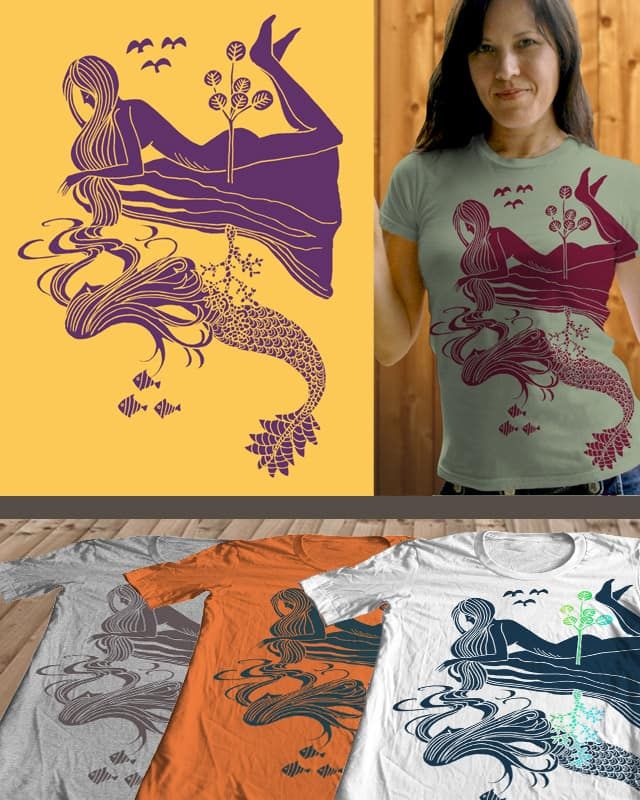 The Mermaid's Dream by opifan64 on Threadless
