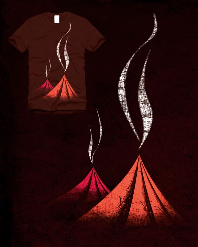 Volcanos by sustici on Threadless