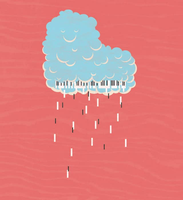 Soothing Sound of Rain by Monkey X on Threadless