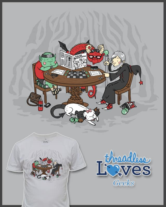A Game of Suburbs & Mere Mortals by TheInfamousBaka on Threadless