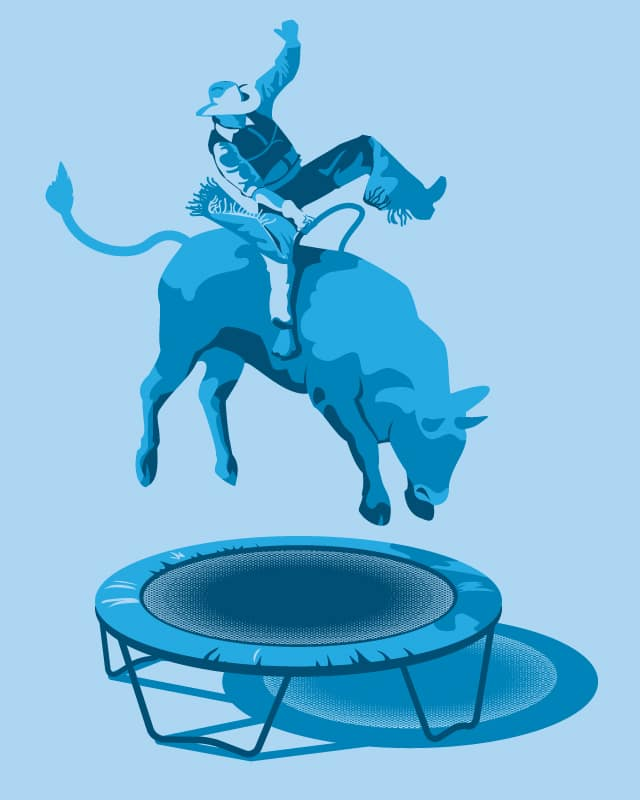 Funny Rodeo by D-Alien on Threadless