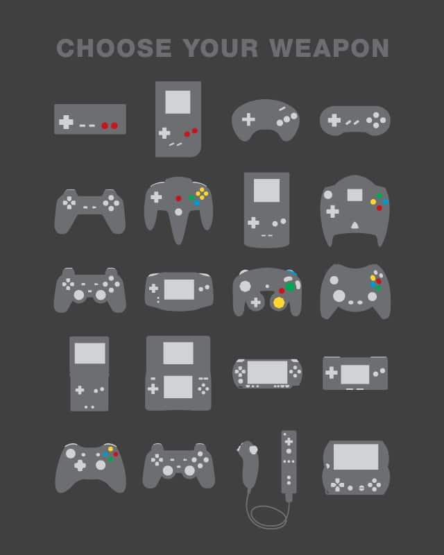 Choose Your Weapon by aLFaDaRK on Threadless