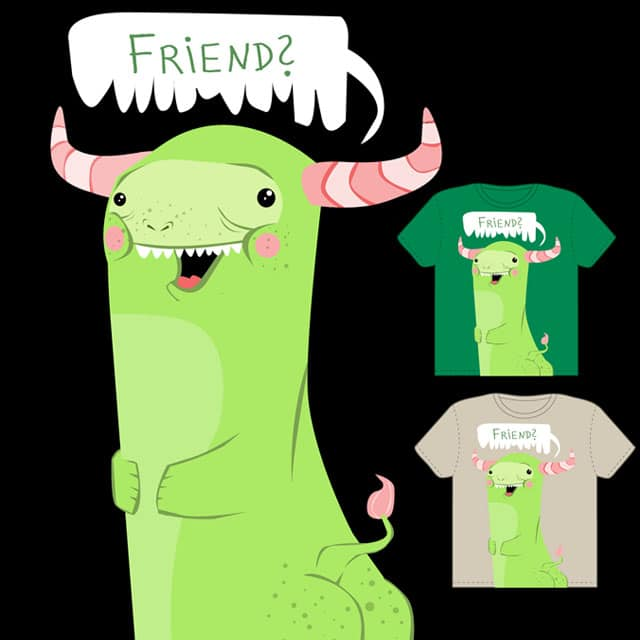 Friend? by queenmob on Threadless