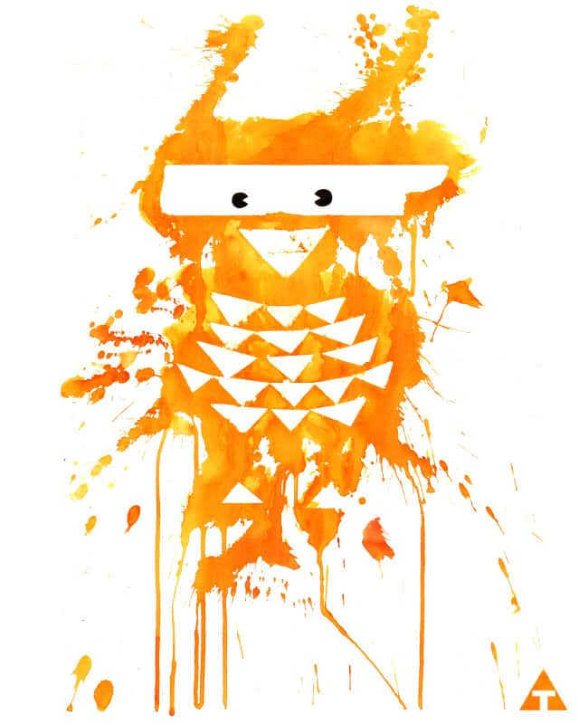 ORANGE BIRD by aleksandartopic on Threadless