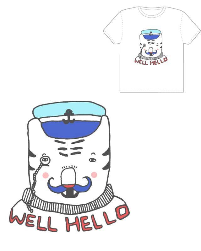 Well Hello by nellyellie on Threadless