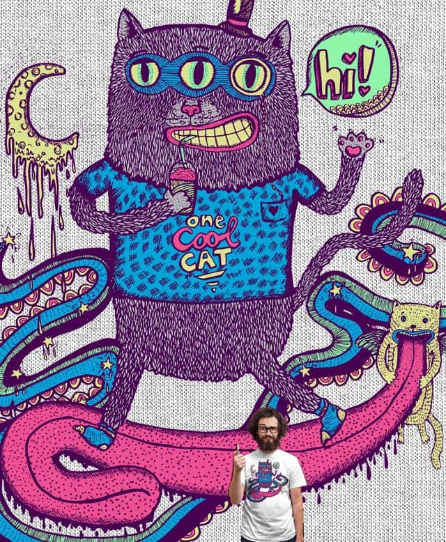 One Cool Cat by nicholelillian on Threadless