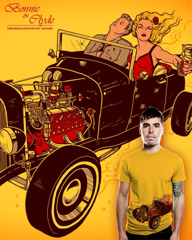 Bonnie & Clyde by alexmdc on Threadless