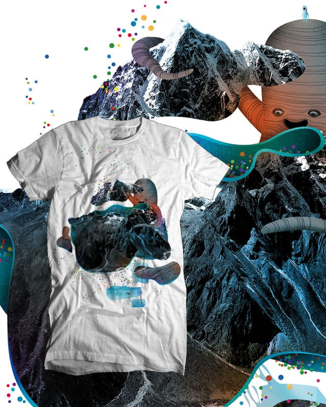 Secret Mountain by apy on Threadless