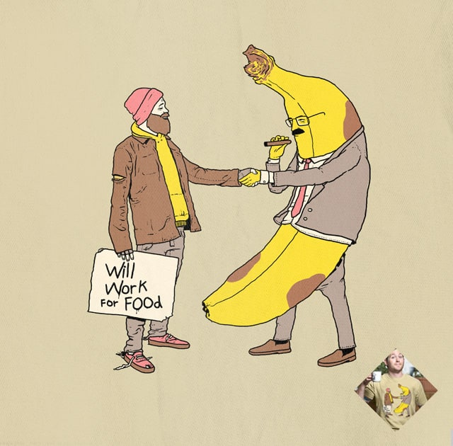 Will Work For Food by tenso on Threadless