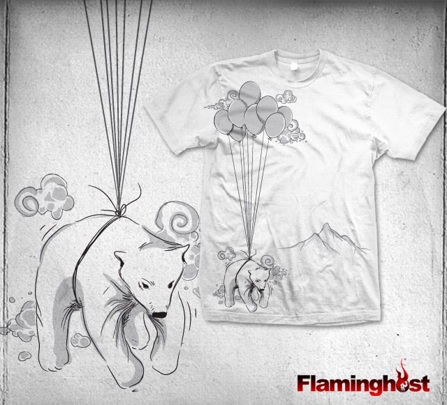 flying polar bear by flaminghOst on Threadless