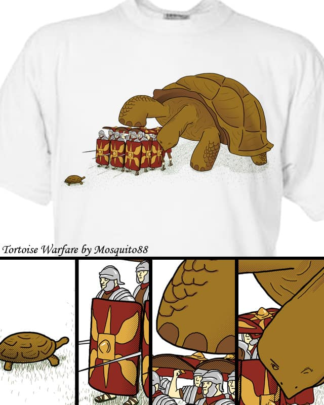 Tortoise Warfare by Mosquito88 on Threadless