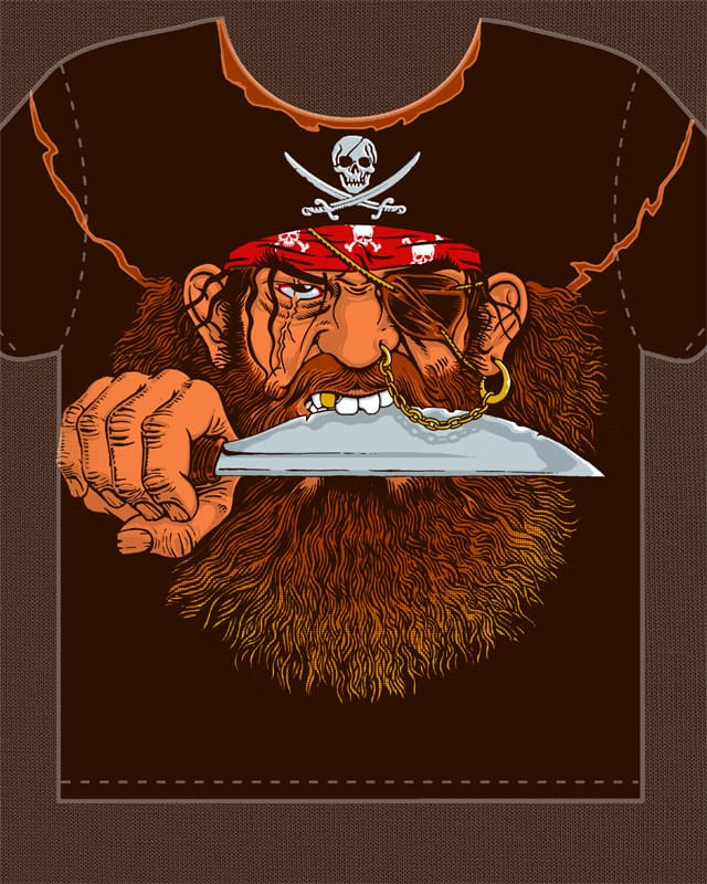 Old pirate by RicoMambo on Threadless