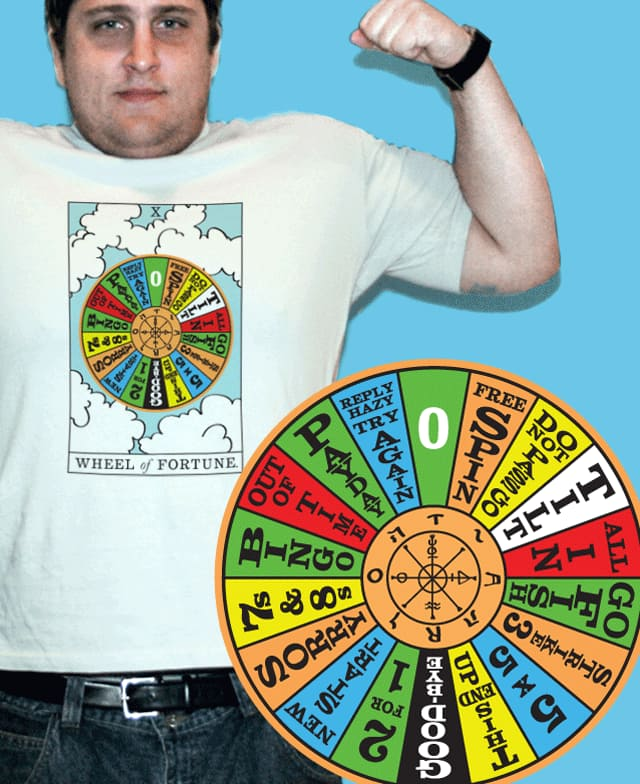 Wheel of Fortune by jemale on Threadless