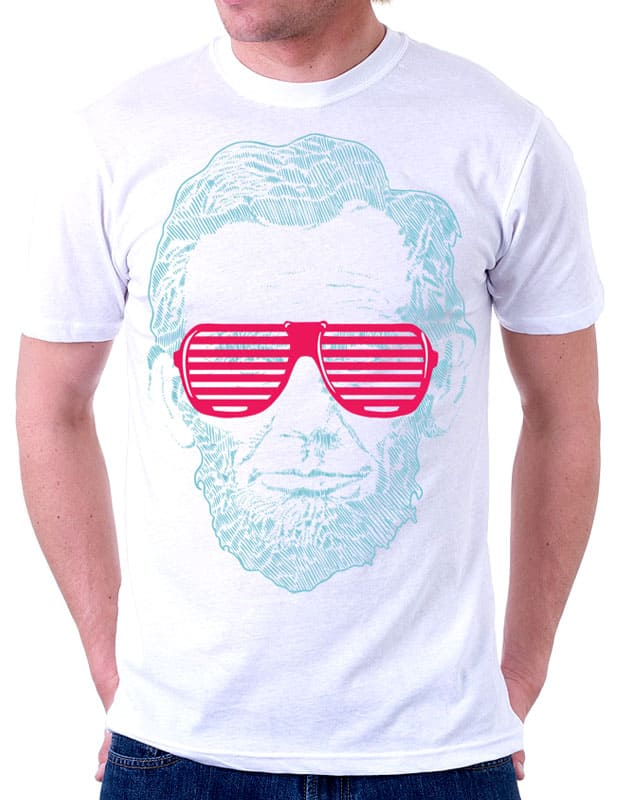 Lines & Lincoln by BLXMAN77 on Threadless