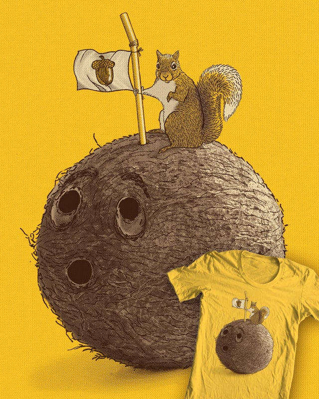 Goldie Conquers the Biggest Nut by Santo76 on Threadless
