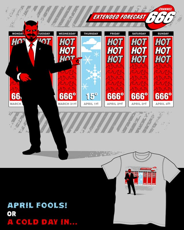 April Fools by tomburns on Threadless