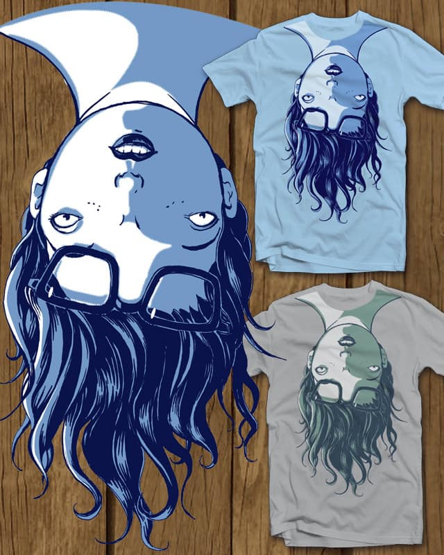 upside the head by blue sparrow on Threadless