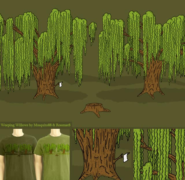 Weeping Willows by Mosquito88 on Threadless