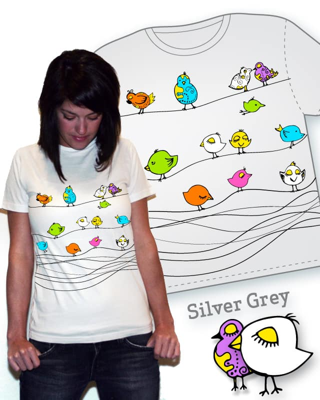 birds by nirmak on Threadless