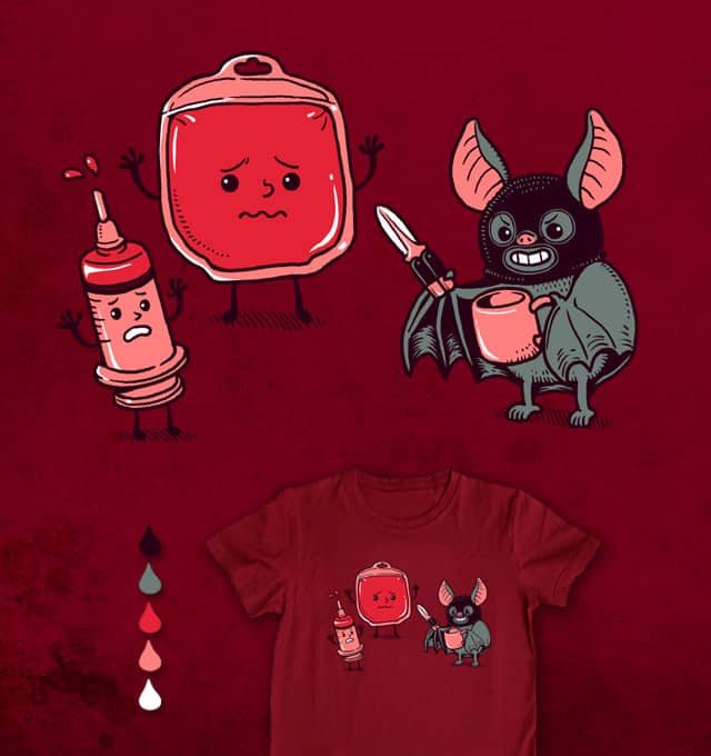 Freeze! This is a robbery!! by ben chen on Threadless