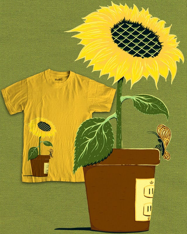 sunflower power by artulo on Threadless